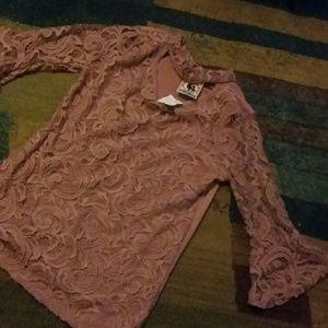 Girls Lace shirt